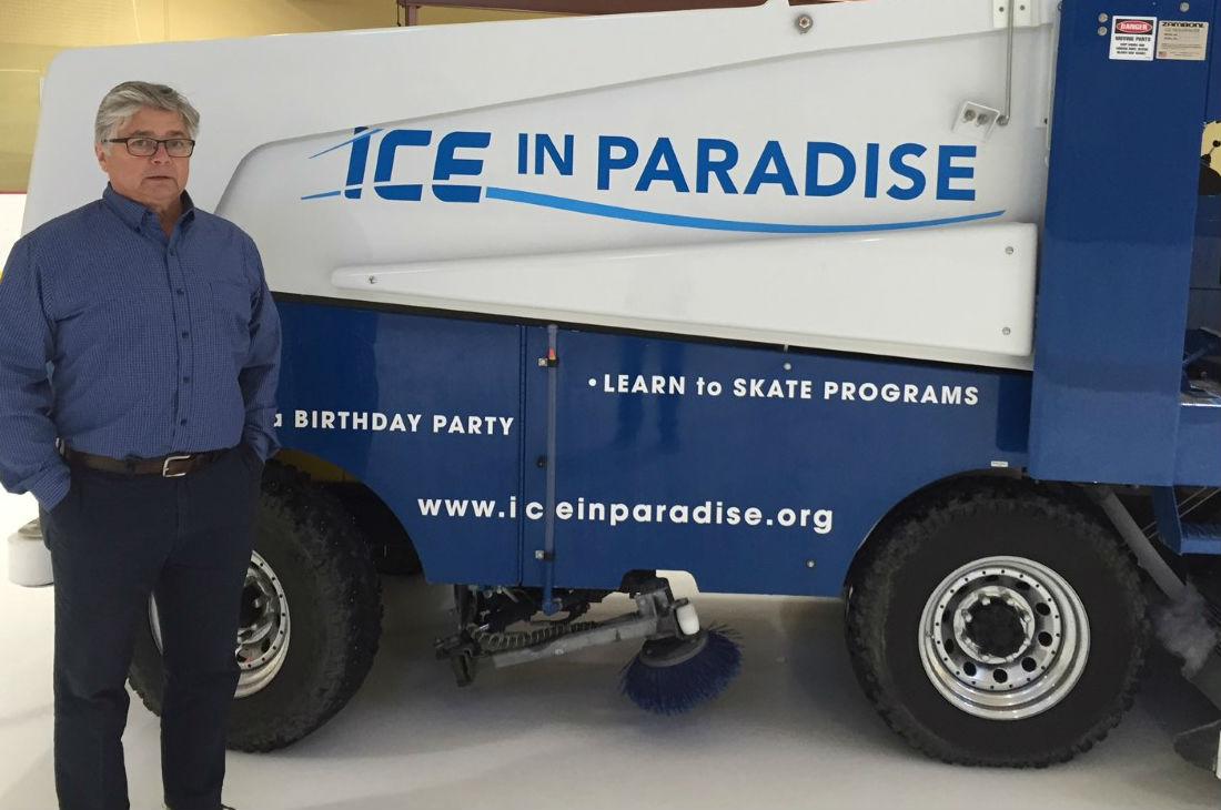 Ice in Paradise's Larry Bruyere
