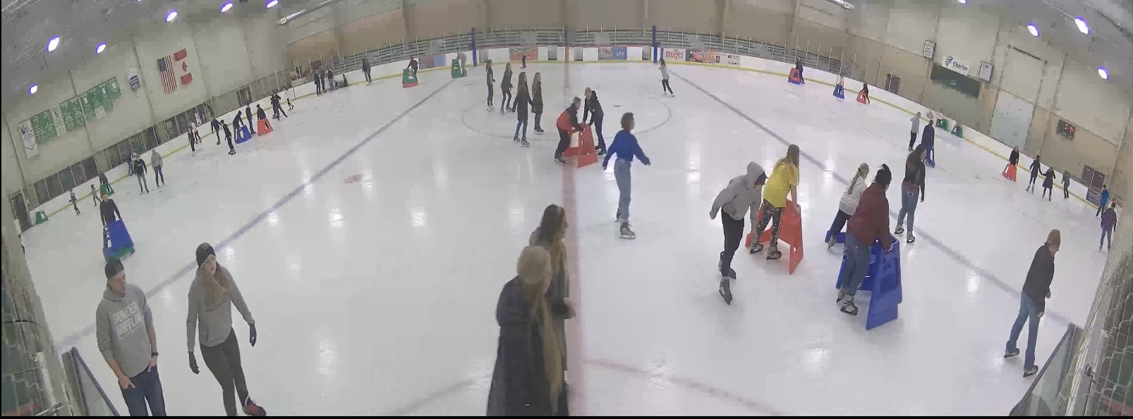 Public skate at Bay County Civic Arena
